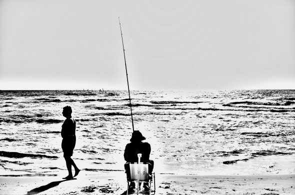 דייגים על החוף