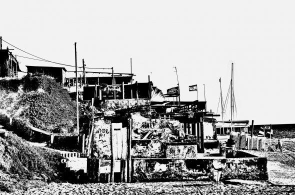 עיירה שחור לבן